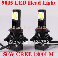 2Pcs X 9005(HB3) 12V High Power LED Head Light Car Headlight Fog Lamp LED Truck Auto Lamp Bulb 9005/HB3 HID Xenon Free Shipping