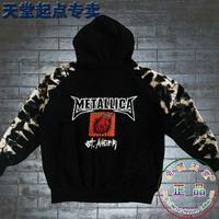 Men's outerwear sweatshirt  zipper hoody metallica
