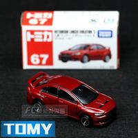 Free shipping Dume card tomy 67 MITSUBISHI evo alloy car model toy