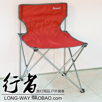 Dowell outdoor portable folding chair casual beach thickening steel pipe director chair