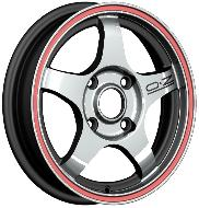 Aluminum wheels 14 modified cars aluminum alloy rim wire