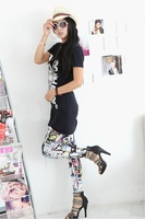 Free shipping 2013 New Arrive Jeans Look Pants Fashion Leggings For Women.Tights Jeggings ,K055