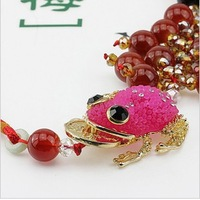 Car pendant toad crystal accessories car hangings exhaust pipe decoration car accessories car