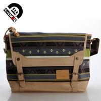 Draconite vintage female messenger bag shoulder bag canvas bag man bag female 62 green
