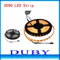 Waterproof 5050 RGB Led Strip Light 60led/m 5M 300 LED SMD DC 12V with high quality free shipping
