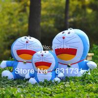 Classics Cartoon Toys 1PCS Medium 32CM Amusing Plush Doraemon Doll Environmentals Stuffed Toys Doraemon For Kids Free Shipping