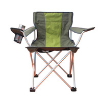 Large armrest chair outdoor leisure folding chair director chair beach folding chair