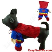 Dogloveit Cosplay Superman Costume for Pet Dog