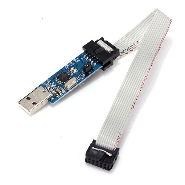 USBasp USBISP AVR Programmer USB ATMEGA8 ATMEGA128 ATMEL AVR ATmege 3.3V / 5V(China (Mainland))