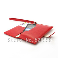 Multi-function korean style Generic Leather purse Case for Sony Xperia J ST26i free Shipping