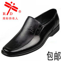 2013 men's formal genuine leather shoes soft rubber sole shoes foot wrapping leather casual shoes