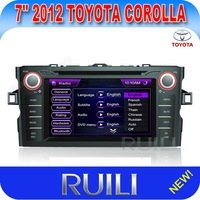 Toyota Collora  Car  DVD GPS 8 inch 2 din Free Map New arrival Factory Price!