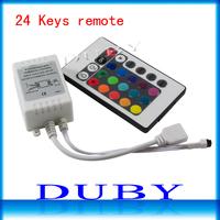 High quality 5PCS/LOT DC5-24V RGB 24 Keys IR Remote Controller for SMD 3528 5050 RGB LED SMD Strip Lights lighting accessory