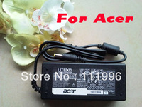 Notebook Laptop AC Power Adapter Charger for ACER/LITEON 19V 3.42A , 65W, 5.5*1.7mm Plug Freeshipping