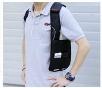 Anti-Theft Hidden Underarm Shoulder Bag Holster Black Nylon Multifunction Redalex Inspector Shoulder Bag