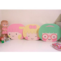 Cartoon girl mouse pad mouse pad computer accessories