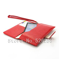 Multi-function korean style Generic Leather purse Case for Sony Ericsson X10 free Shipping