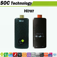 Hi707 Quad core RK3188 1.8GHz  MINi PC android 4.2.2 2GB/8GB with Mic Web 5MP Camera