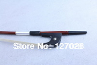 Free shipping 4/4 Full Size German Pernambuco Brazilwood Double Bass Bow W/ Ebony And Genuine Horse Hair