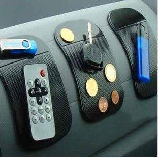 Powerful Silica Gel Magic Sticky Pad Anti Slip Non Slip Mat for Phone PDA mp3 mp4 Car Accessories Multicolor