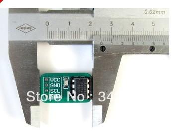 Free Shipping! 10pcs AT24C16 EEPROM memory module serial IIC I2C Interface nonvolatile microcontroller development board