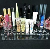 pop up display 41 lipstick holder make-up cosmetics lip gloss display rack lipstick storage  trade equipment