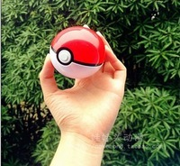 1pcs/lot ABS Anime doll Pokemon Monster spirit demon Elf PokeBall kids toys balls Red  blue purple gift freeshipping  wholesales