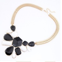 High quality resin dress necklace