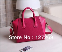 2013 New Fashion Women Handbags Nubuck+PU Korean Style Tote And Shoulder Bag Dual-use Bag BG0049  3Colors Free Shipping