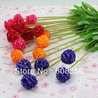 "NEW 20Pcs 48cm/18.9"" Length Artificial Silk Flowers Simulation Hydrangea Five Stems Per Bush Home Decoration Wedding Flower"