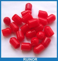 1000pcs/lot  Plastic Covers Dust Cap Red for RF SMA Female Connector