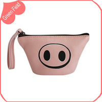 Pink PU Leather Coin Purse Bag Change Purse Multifunction Wallets Mini Purse Design Coin Purse Bag Wallet Free Shipping