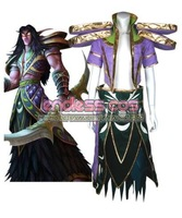 World of Warcraft Night Elf cosplay costumes anime Halloween   Christmas gift free shipping