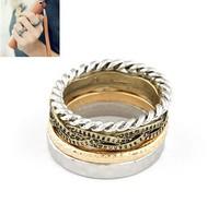 Min 10 US Dollar (Mix Items) SPX3303  New 2013  Fashoin Alloy Cute Cuff Punk Ring  Rings Designer  jewelry  E-JOY LIFE