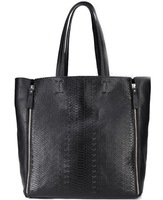 2013 STAR SNAKE PATTERN ladies's FIRST LAYER genuine leather TOTE for women black bag