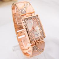 Hot Sale Gold Tone watch luminous Crystal women dress Watch ceramic diamond WristWatch Ladies Girls Quartz  Watch TW027