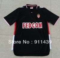 2013-2014 Monaco  away black FALCAO soccer Jersey  football jersey T-shirts football jersey soocer unifrom