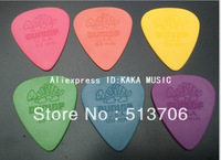 Free Shipping 600 Pieces Guitar Picks Dunlop Tortex with Case .60mm .50mm .88m 73mm 1.0mm 1.14mm
