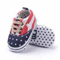 2013 autumn and winter hot-selling cotton cloth pentastar lacing baby shoes handsome male child soft outsole skidproof toddler