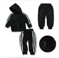 new 2014 Shampooers autumn male child sports set black king kong 100% cotton free shipping