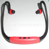 Factory Card FM MP3 card small sport sports headphones with radio sports headphones MP3 sportmp3