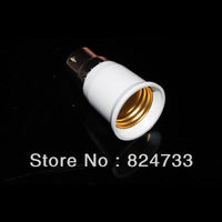 Free Shipping 10 X B22 to E27 White Bulb Converter LED Light Lamp Adapter High Quality 88005898