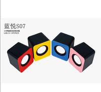 Best S07 portable mini speaker audio a pair usb external speakers wire small speaker