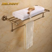 quality fashion vintage copper space aluminum bathroom accessories towel rack