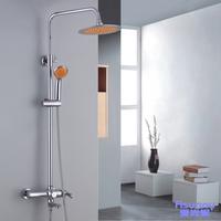 Bathroom copper shower faucet shower set bathtub shower valve
