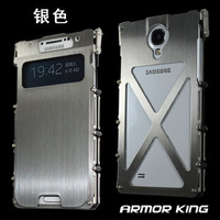 Stainless Steel Metal Case for i9500  Aluminum alloy Case for Galaxy SIV/ S4,  Free Shipping