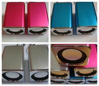 Best Dual-use portable mini speaker mp3 mp4 mini speaker excellent three-color