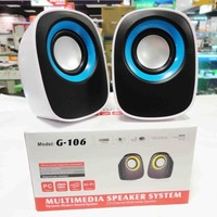 Good G-106 q small speaker laptop audio usb mini notebook speaker