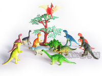 Set Small model dinosaur toys 12pcs, 4 - 7cm length
