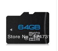 1pieces/lot Free shipping NEW 64gb tf card MicroSD 64GB class 10 Micro SD Memory Card TF 64 GB